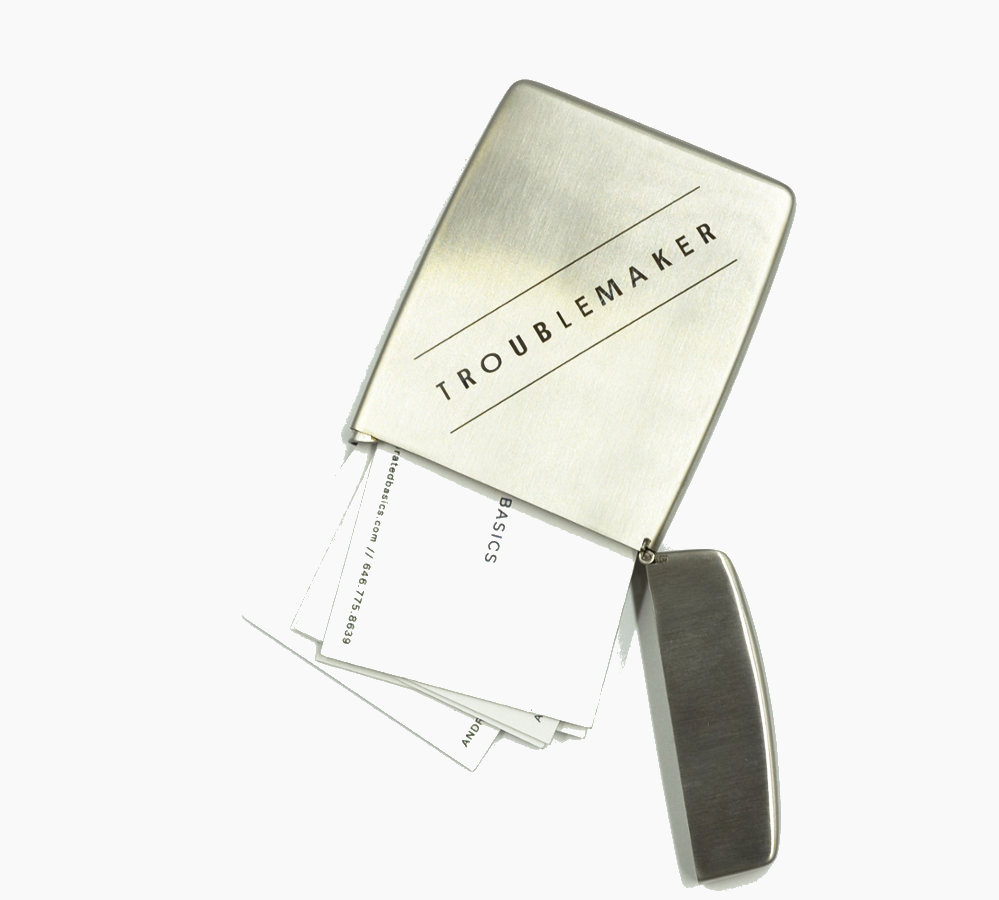 Curated Basics Troublemaker Card Holder
