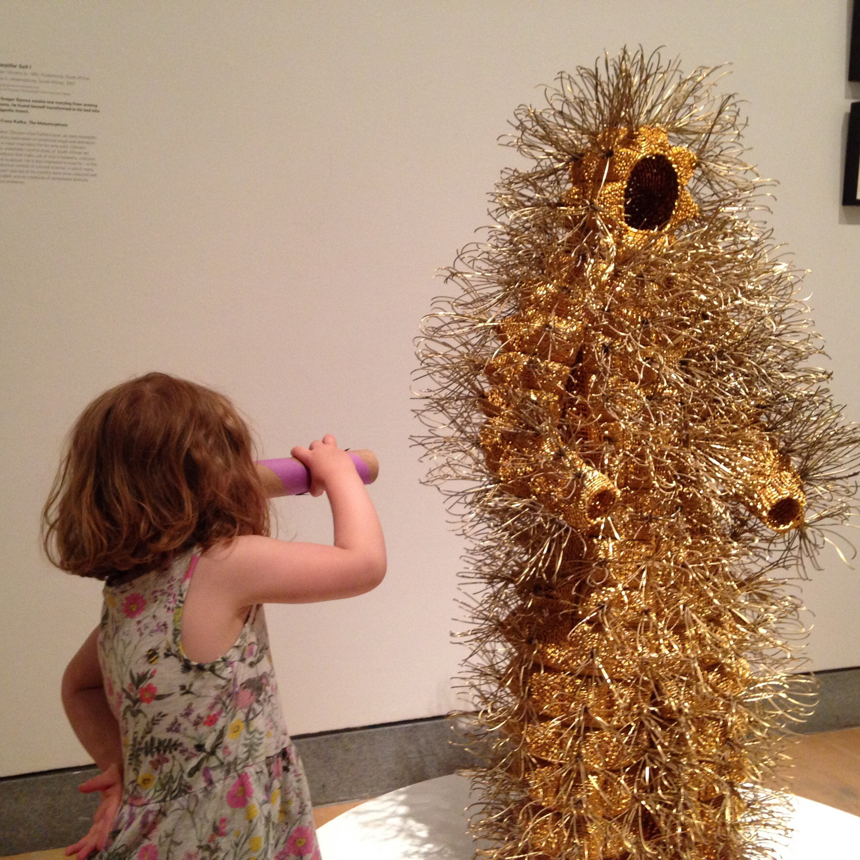 Looking closely at the Brooklyn Museum.