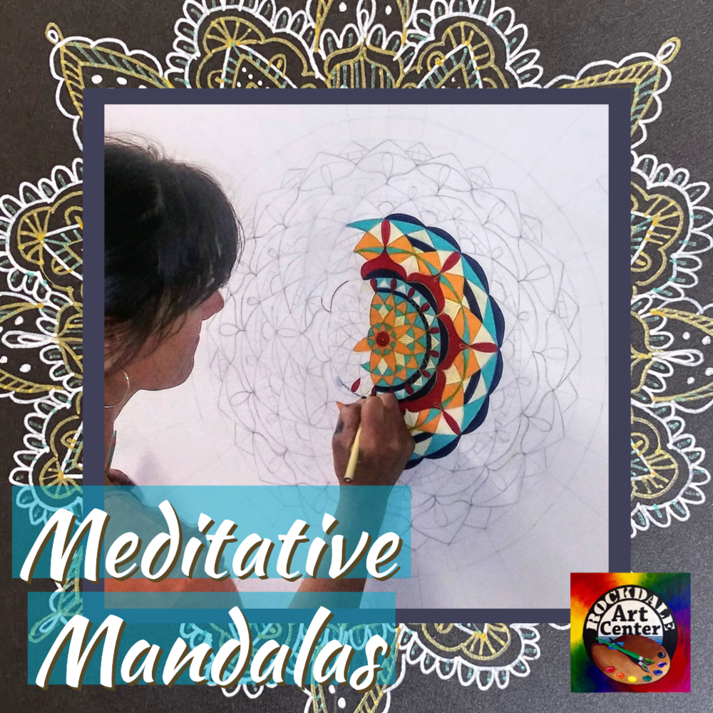 Meditative Mandalas @ Rockdale Art Center