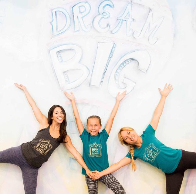 The Little Yoga House founding team.