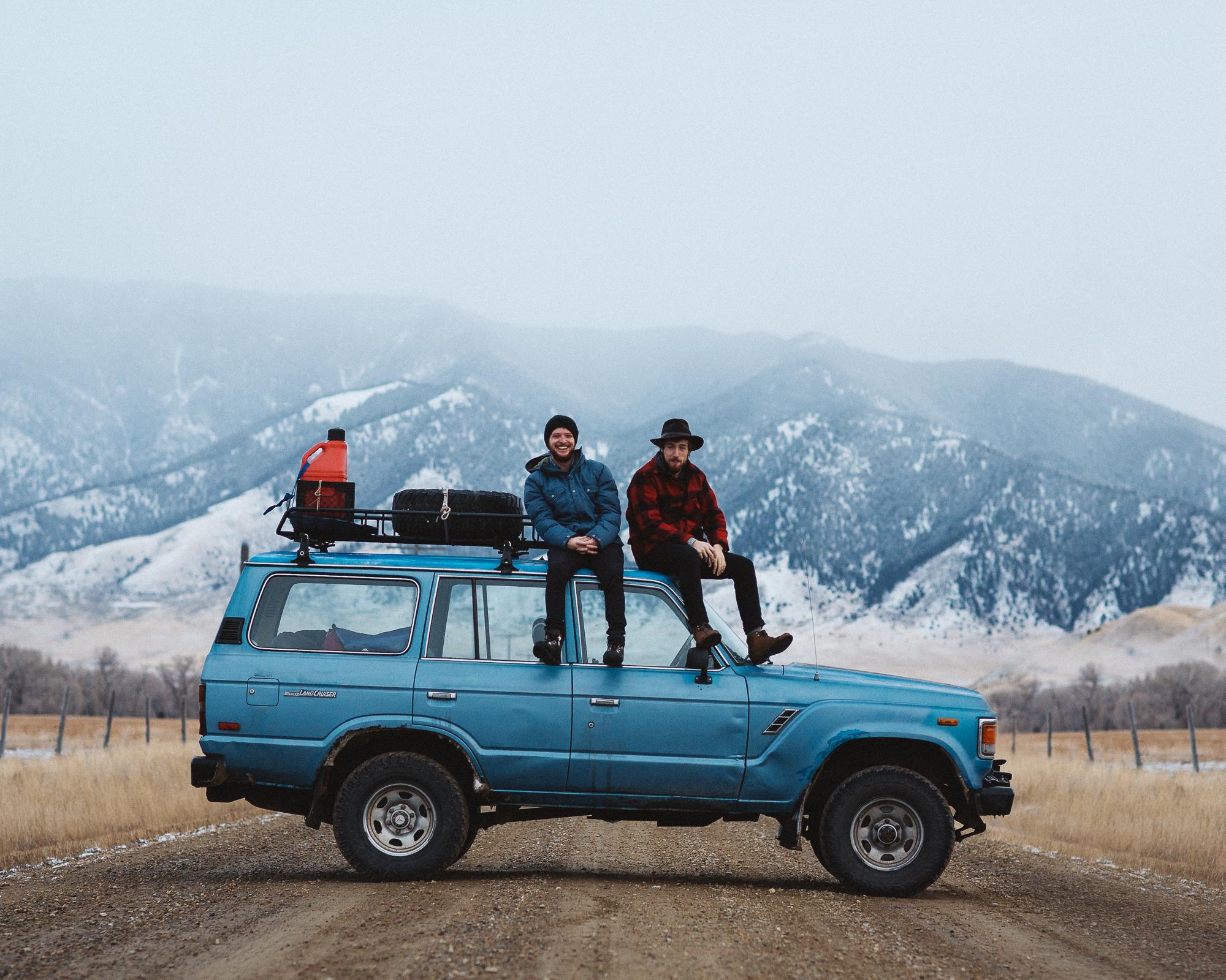Alex and Morgan, near Ennis, Montana.