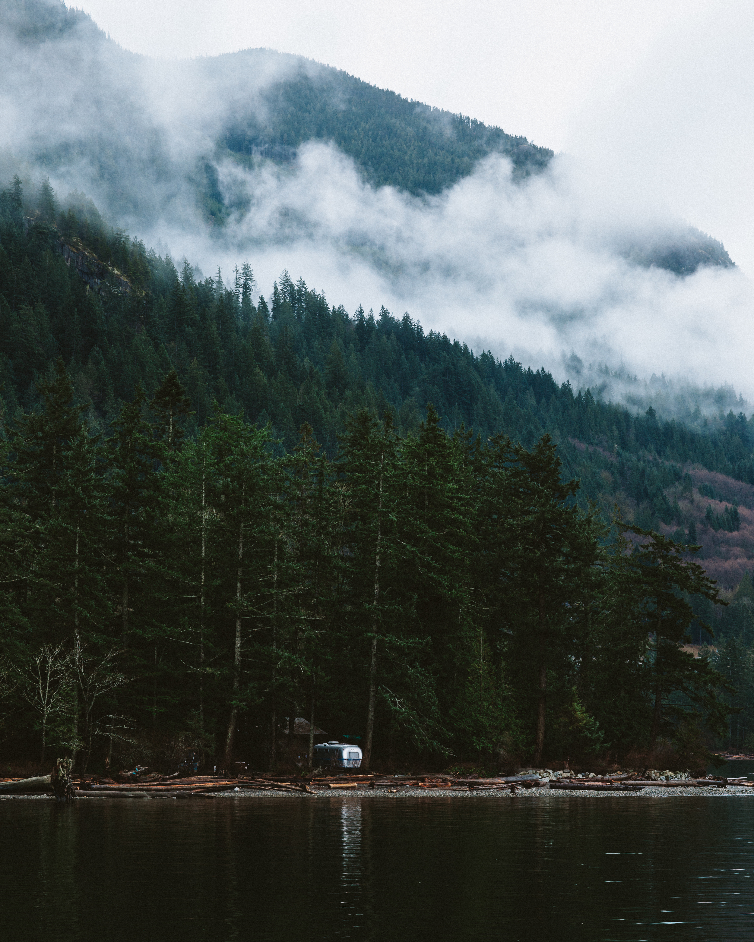 Someone's home in British Columbia.