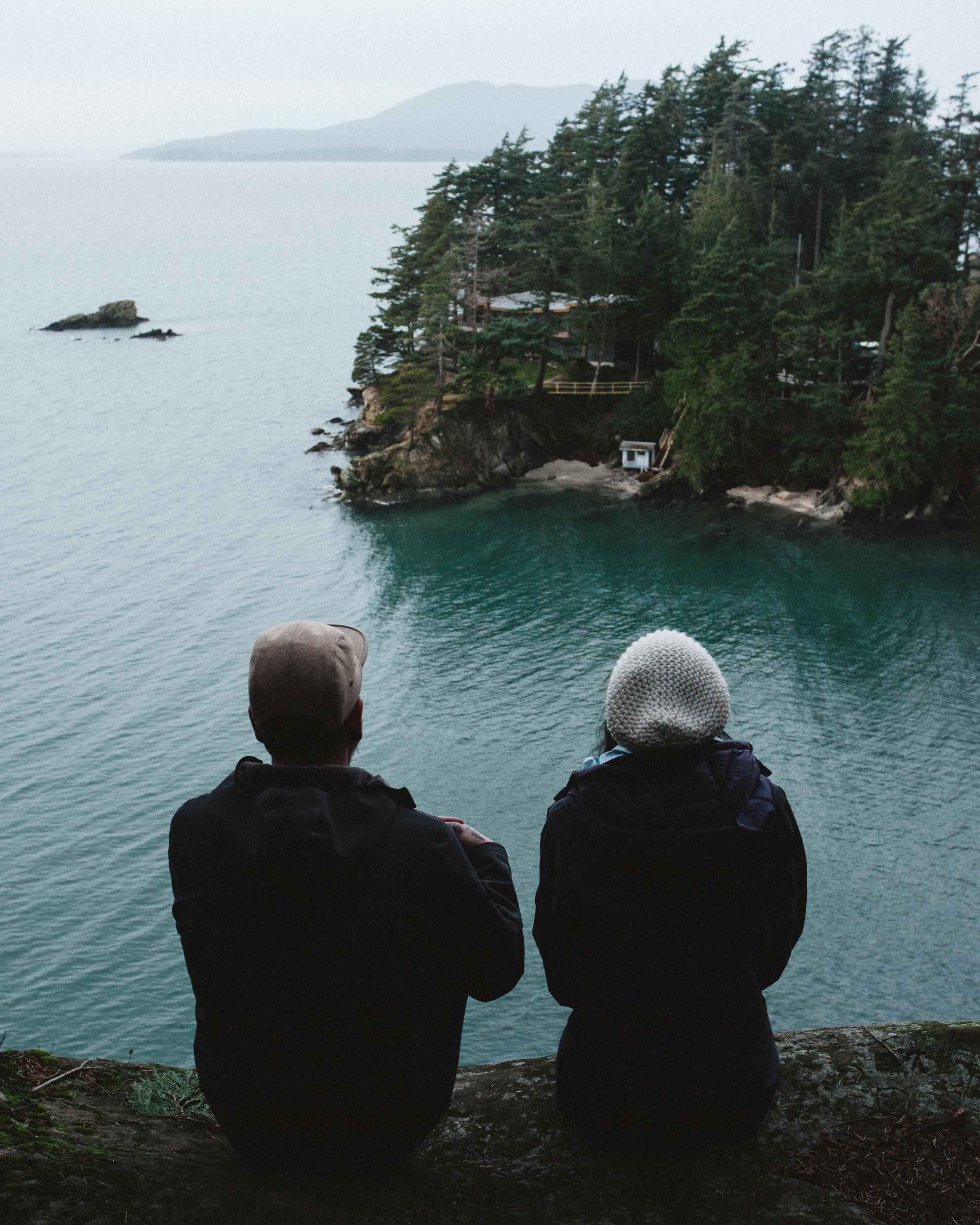 Cliff views.