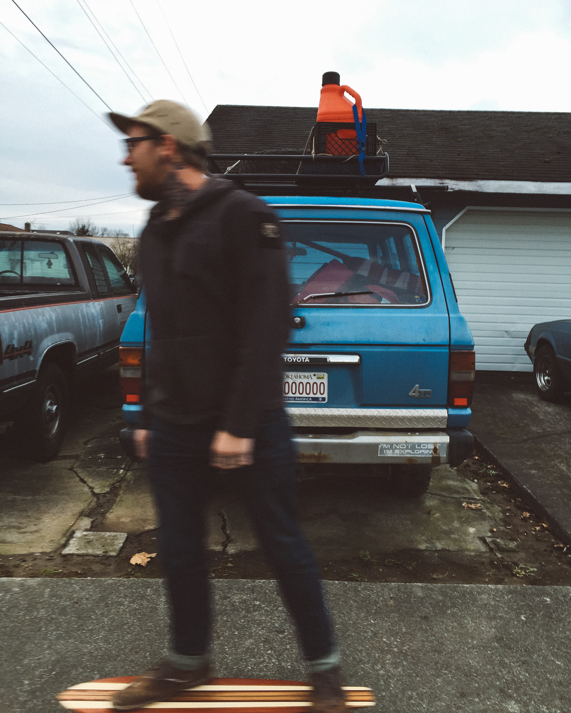 Sumas, heading to Seattle.