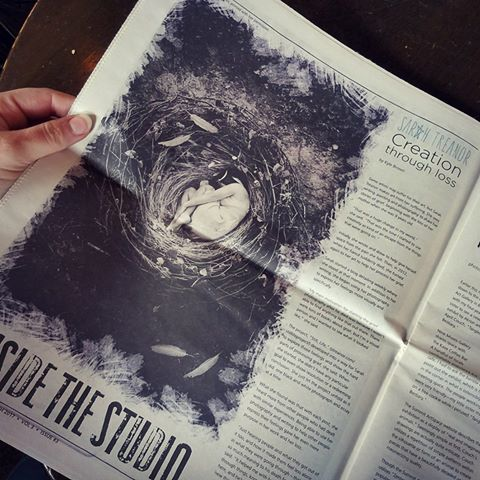 "Inside the Studio, March Issue, 2017 - Featuring ""Sanctuary"""