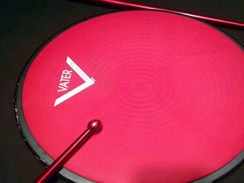 Power Wrist Builders' Aluminum Drumsticks (Red model, for warming up/practicing)