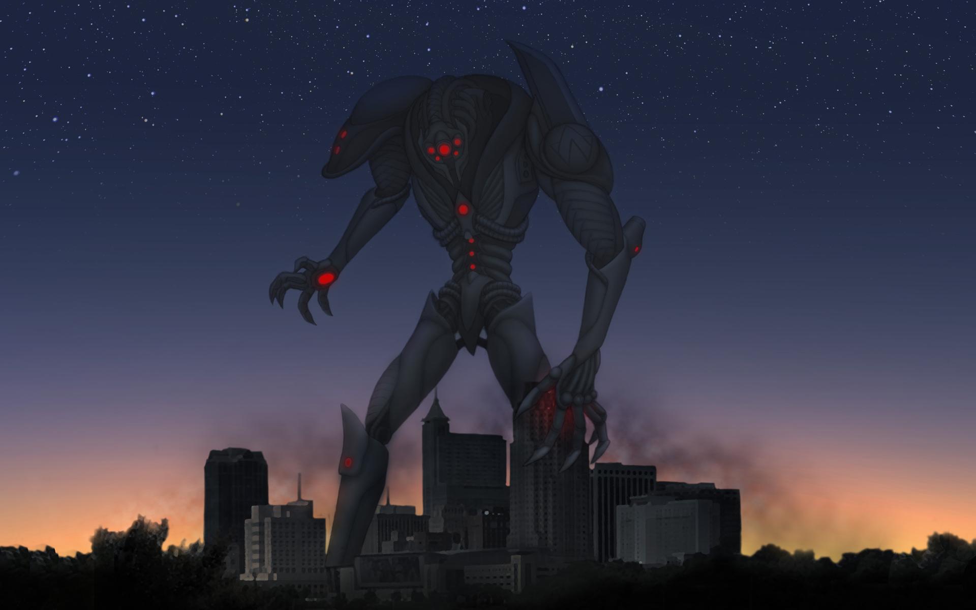 Giant Robot Apocalypse