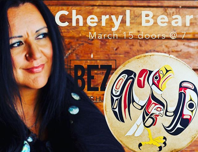 We are so looking forward to having this wise wonderful friend and indigenous leader coming to Bez March 15 at 7PM. She will not only warm your heart and win your friendship, she will also challenge and inspire you. Also, she's an award winning singer-songwriter. Probably a good time for you to come check out Bez Arts Hub.  #livemusic #whatsonlangley #langleyfresh #dailyhivevan  #langleybc #concerts #musicvenue #yvr #langleyevents #acoustic #folk
