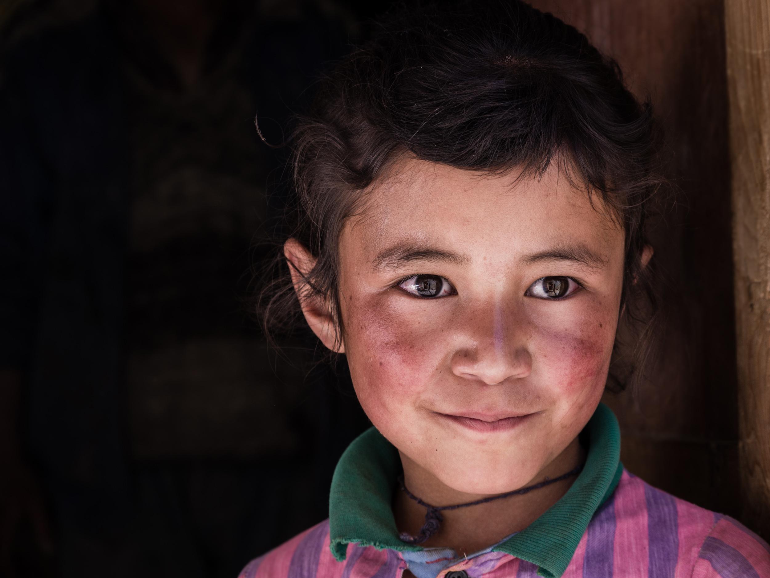 _8 Young girl markha valley India .jpg