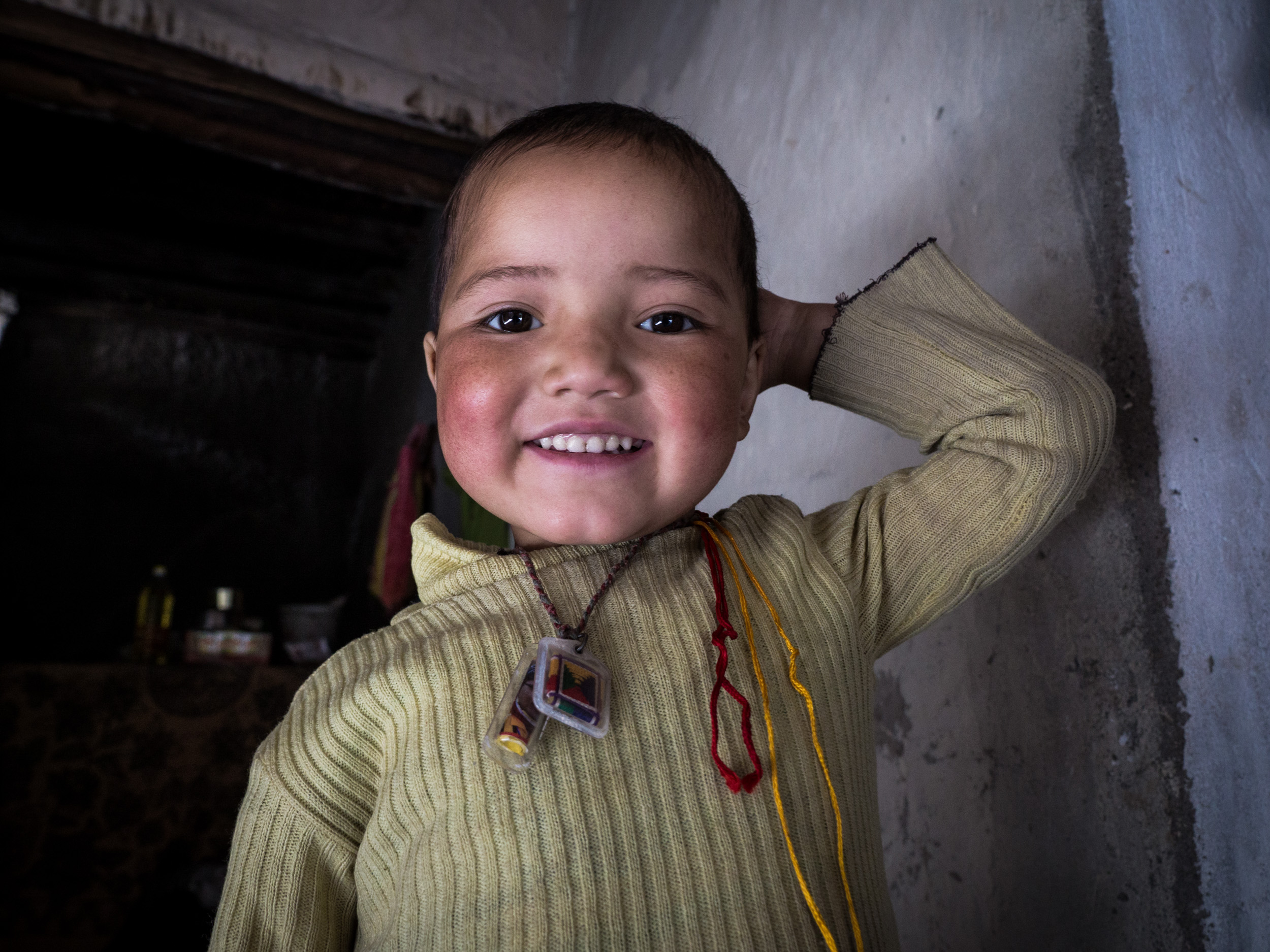 _12 Young Girl Smilling Markha Valley India.jpg