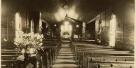 The original parish hall or St. Paul's Bellingham
