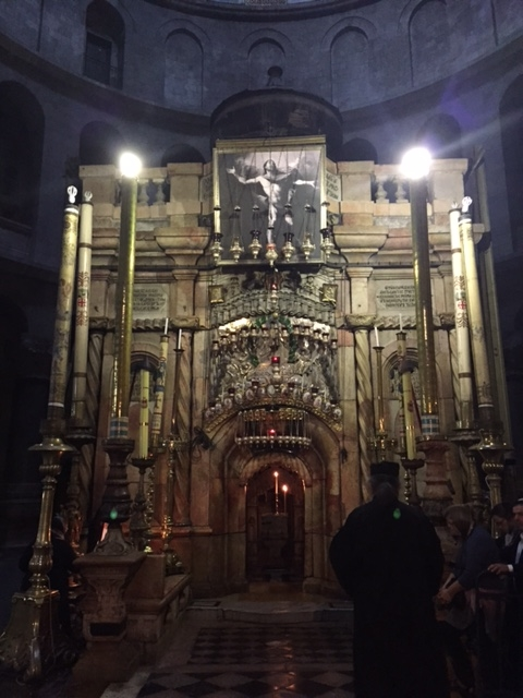 The Tomb of Christ in the Church of the Holy Sepulchre