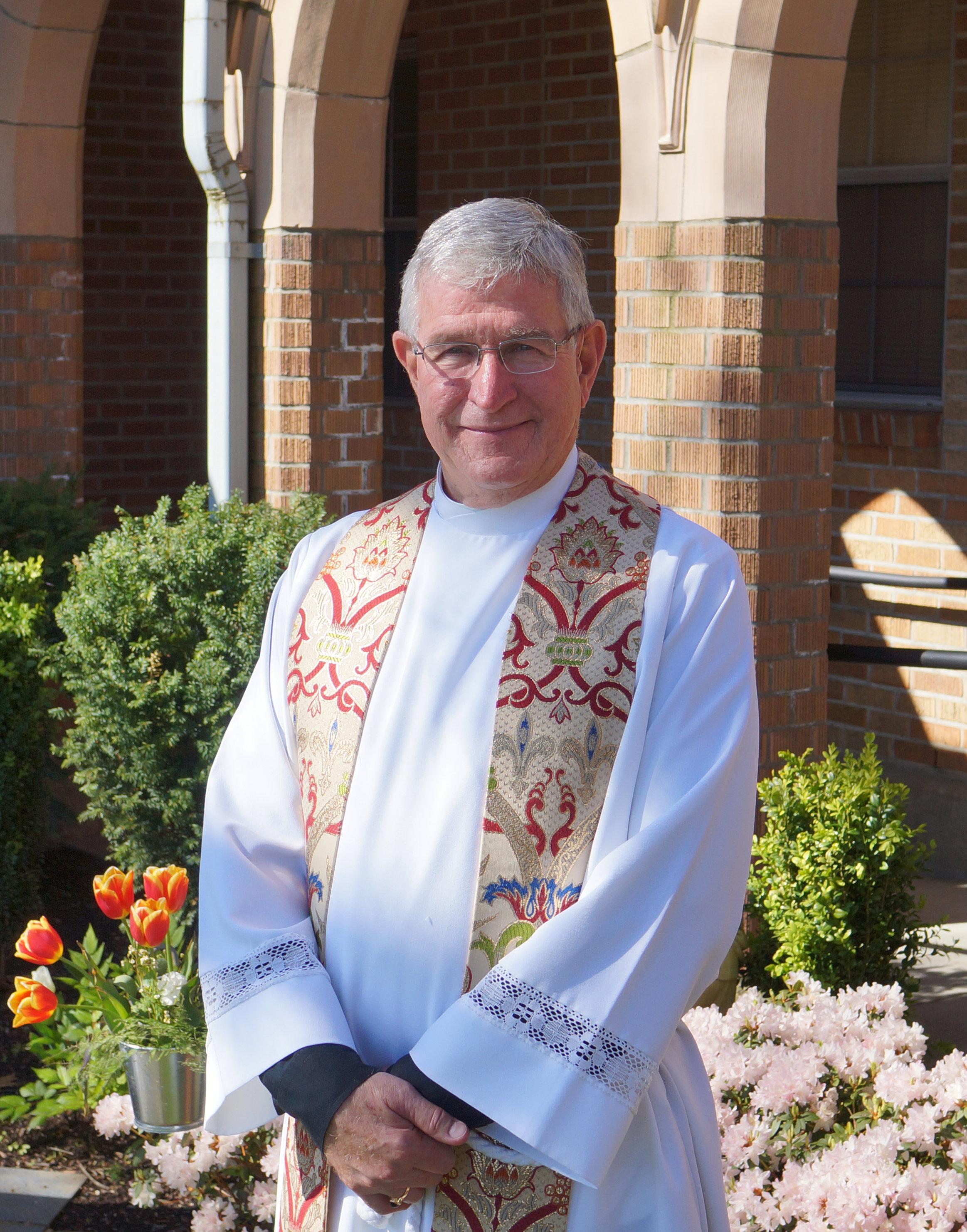 Rev. Stuart Hoke at St. Paul's