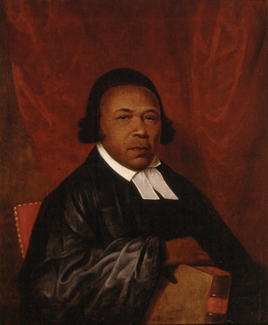 Absalom Jones, first African American priest in the Episcopal Church