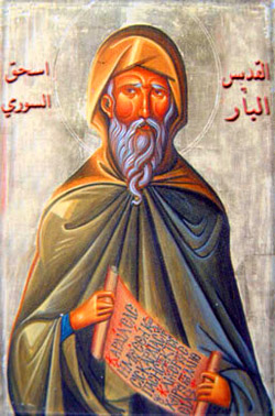 Isaac of Nineveh. (image in public domain)