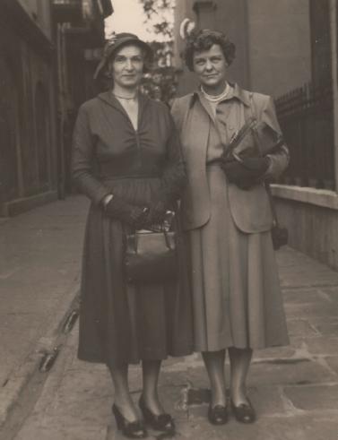 Virginia Ullman and Anita Strawbridge Grosvenor