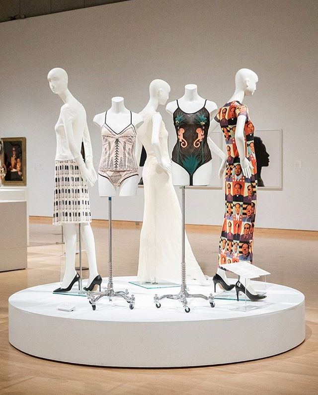 "Visit Phoenix Art Museum through August 12 to see ""In the Company of Women,"" which features more than 50 compelling works from the Museum's collection by more than 40 artists, including fashion by Miuccia Prada, Ann Demeulemeester, Vivienne Tam, Anna Sui, and Phoebe Philo. #repost #PhxArt #MiucciaPrada #AnnaSui #PhoebePhilo #VivienneTam"