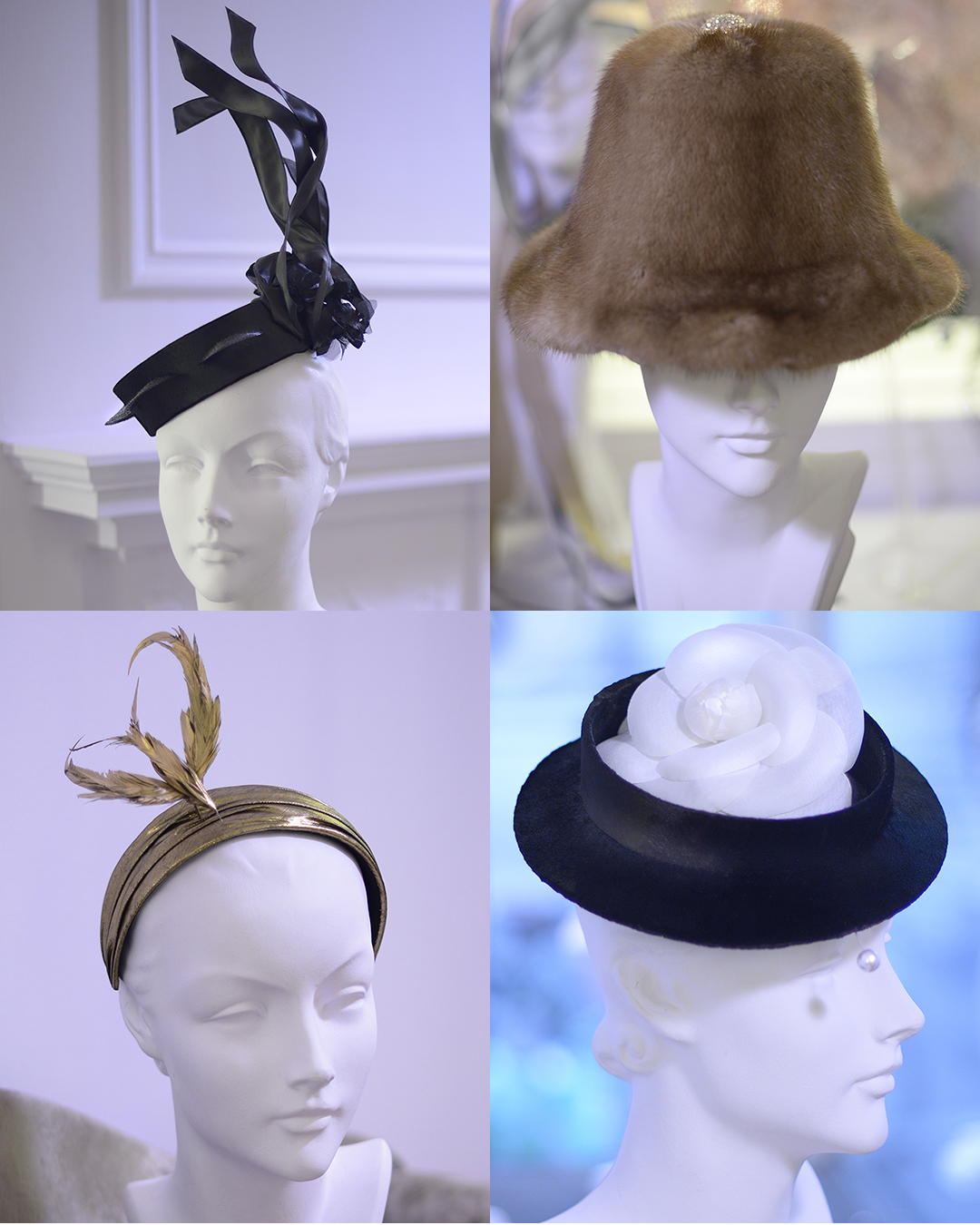 Stephen Jones Autumn Winter 2017, 'Haute Couture & Pret-a-Porter' collection. Courtesy of Stephen Jones Millinery.