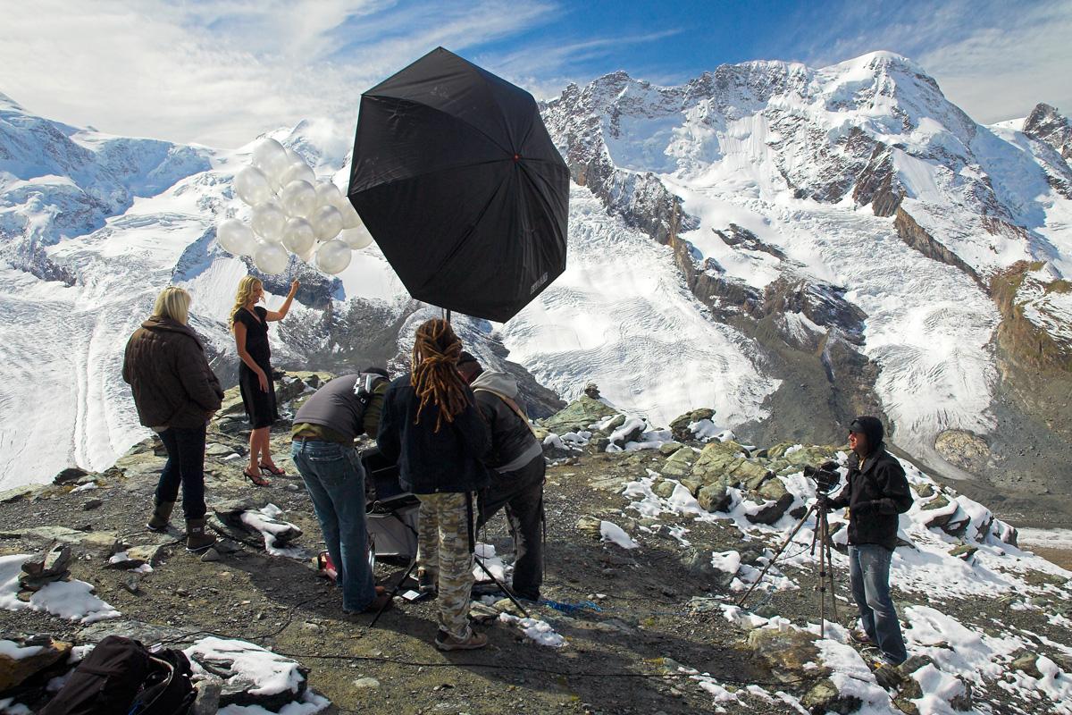 Summit of the Gornergrat, Zermatt, Switzerland