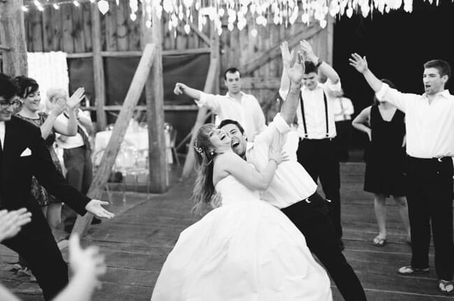 Copy of black and white dance floor with chandelier overhead