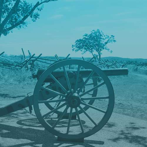 Our Location on the Gettysburg Battlefield -