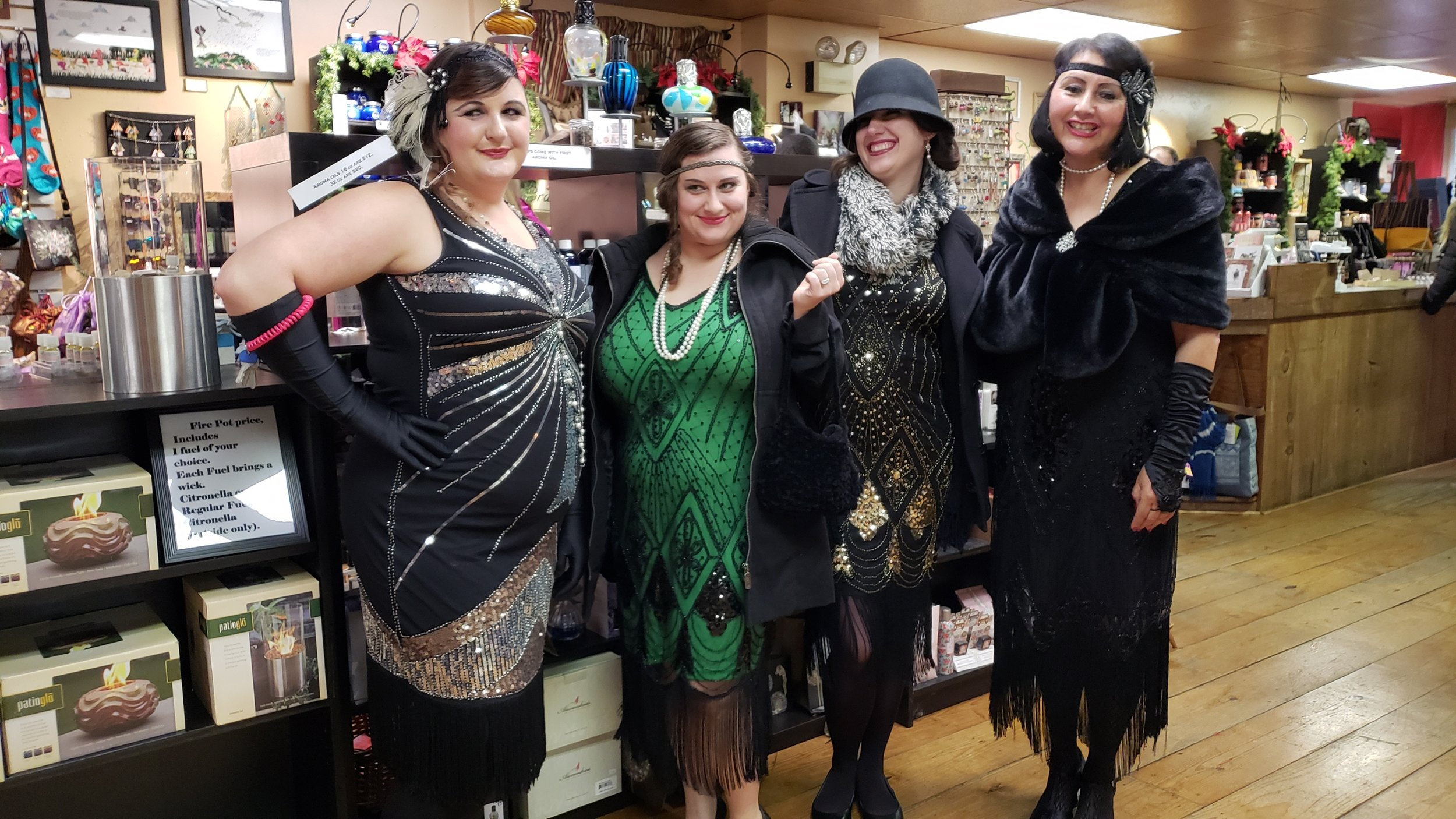 Roaring 20's at A&A's Village Treasures