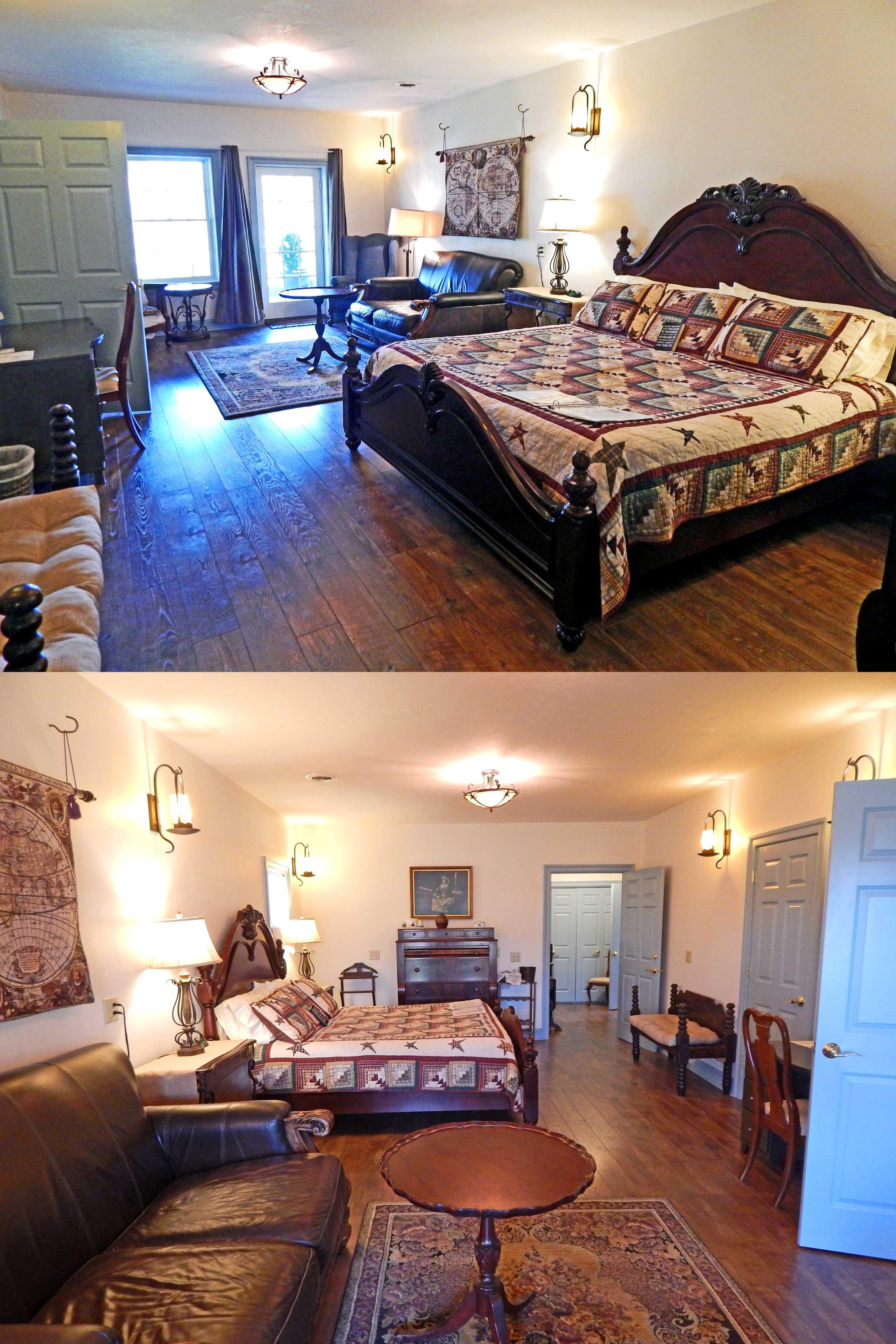 Houghtelin's Hideaway Guest Room at Battlefield Bed & Breakfast