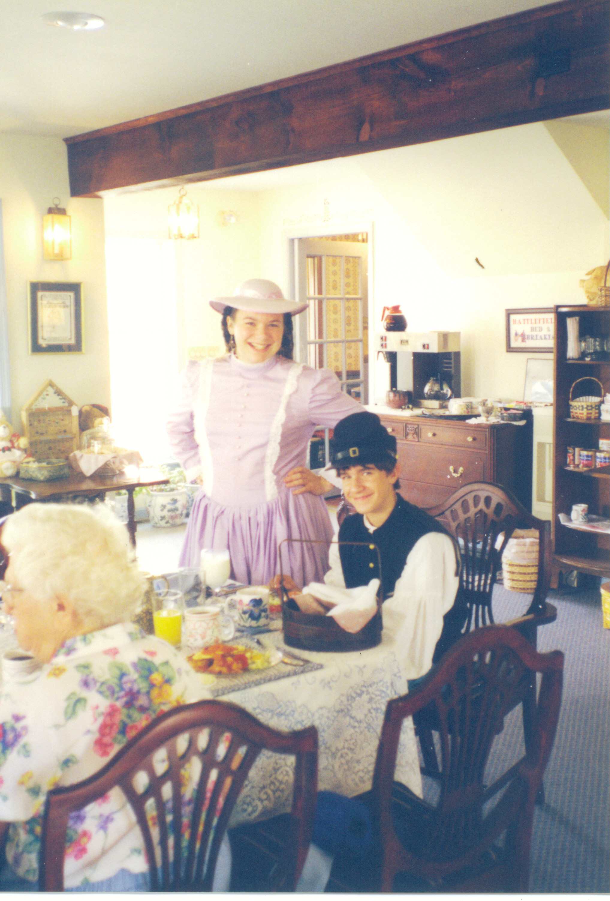 Connie in B&B Dining Room 1995