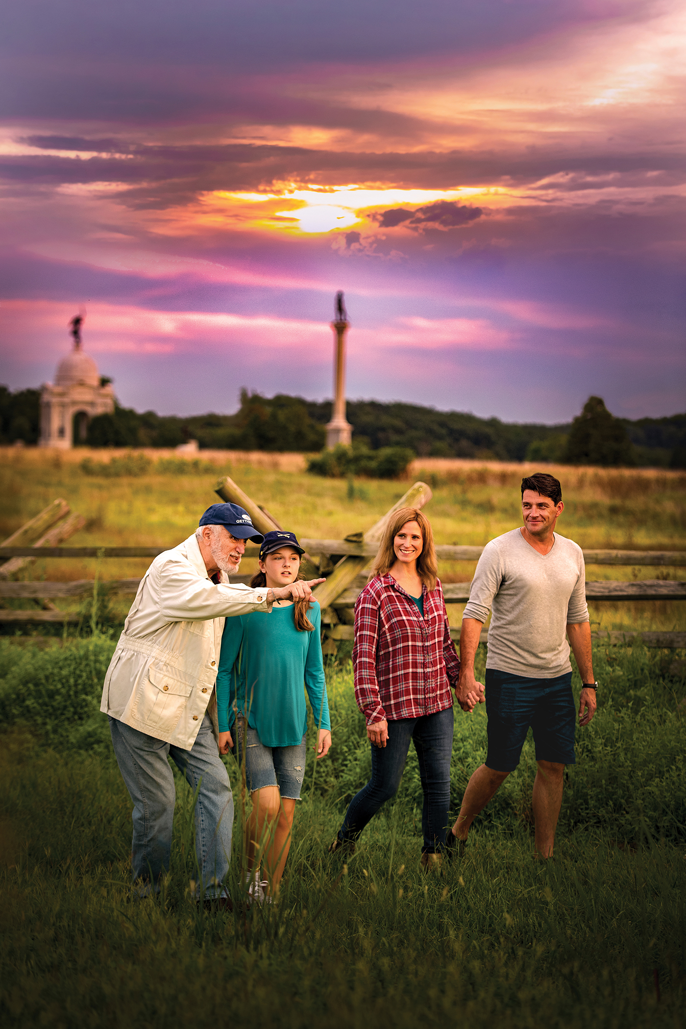 Book a private tour with a licensed battlefield guide.