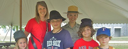 Experience life as a soldier at the Museum and Visitor Center.