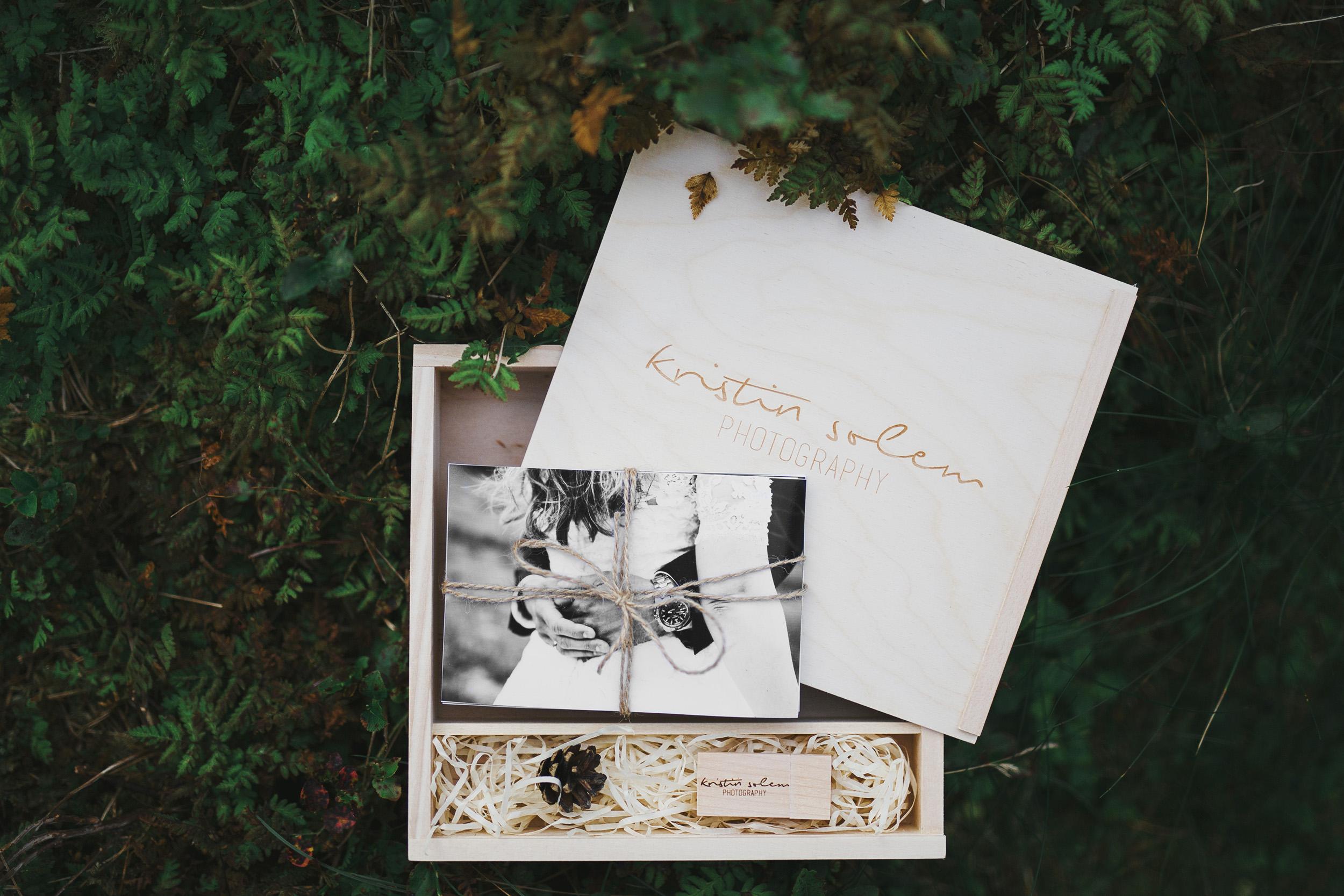 fotograf kristin solem bryllup gaveboks