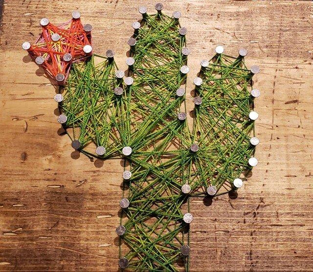 Cactus Sting Art