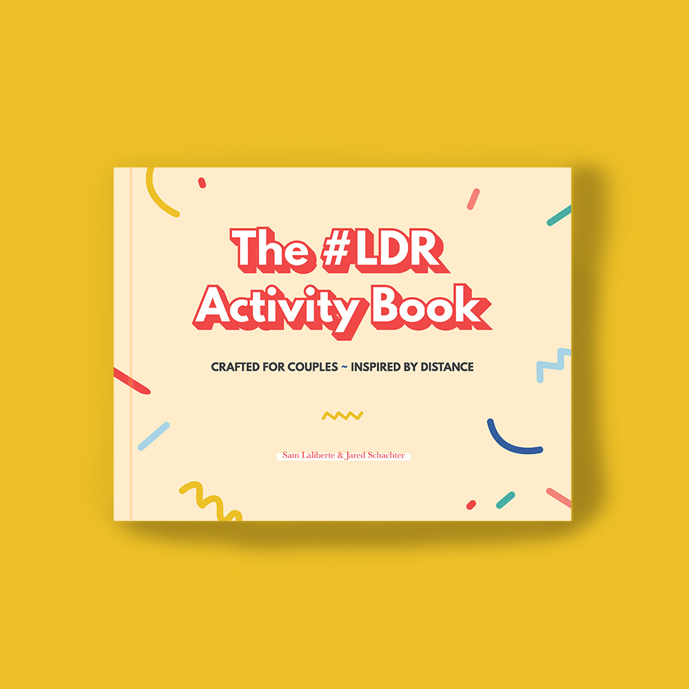 The #LDR Activity Book - Self Help Book Design