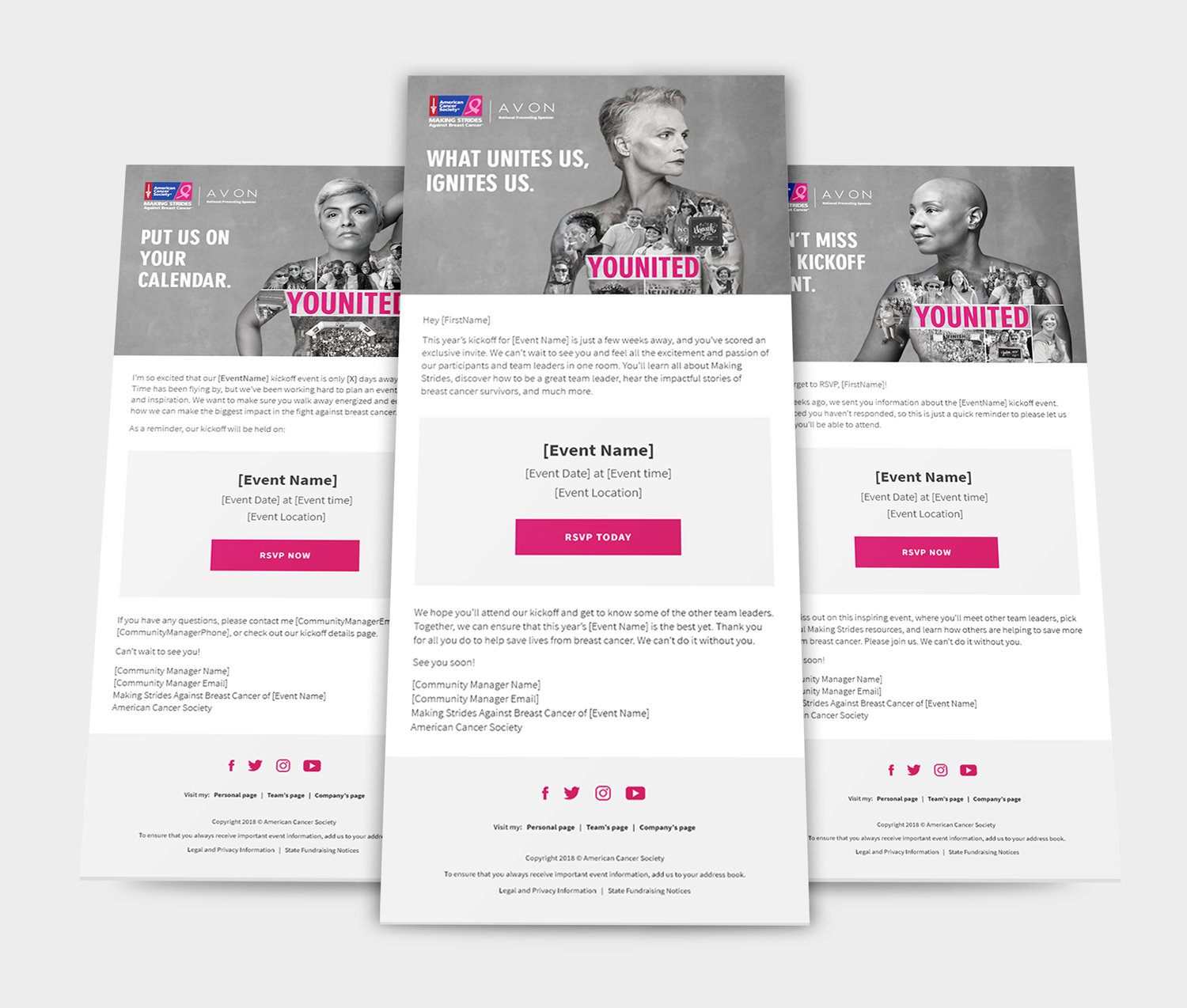 Emails | American Cancer Society | Making Strides Against Breast Cancer Campaign 2018