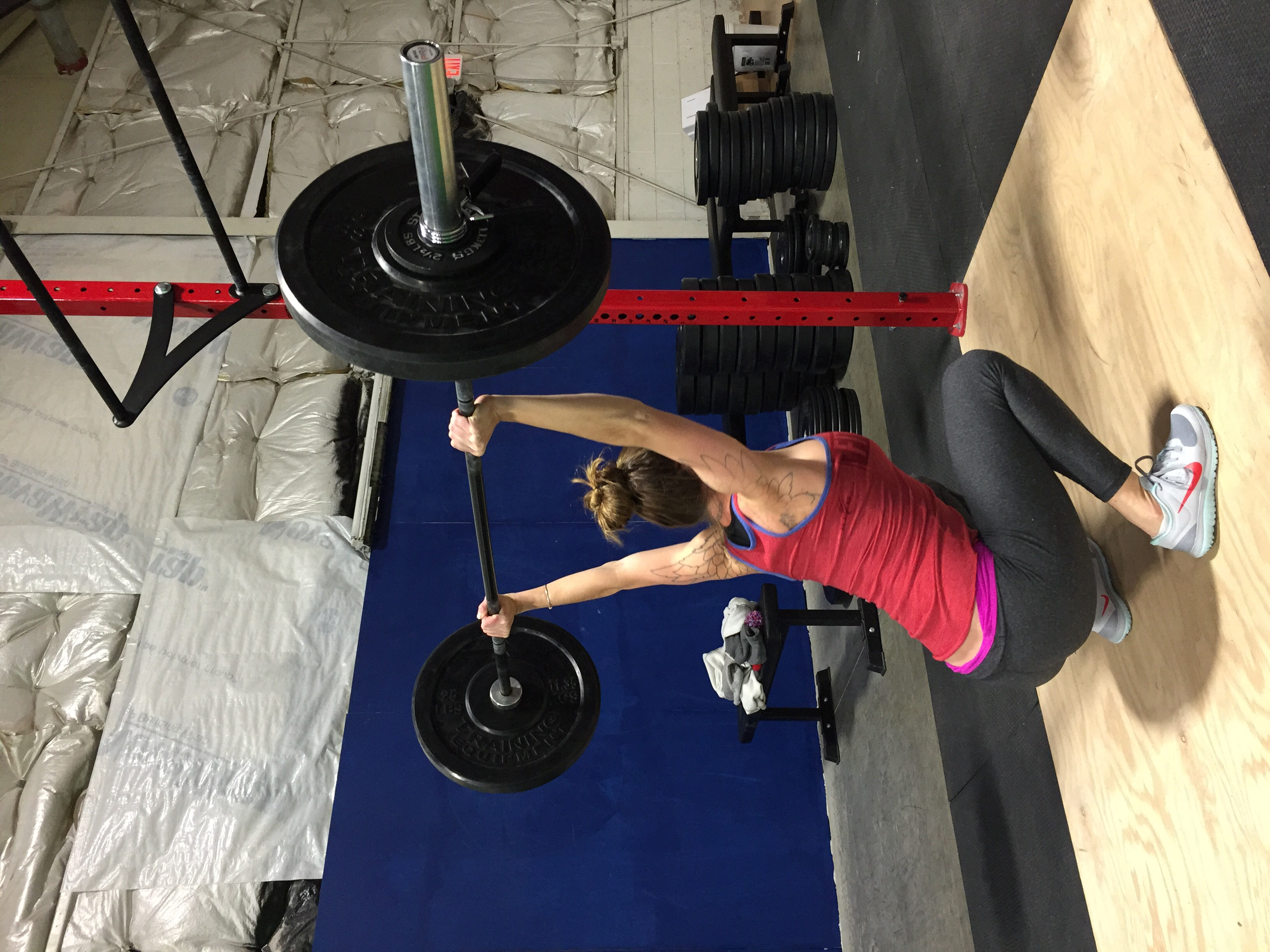 The most demanding squat possible. Amazing form!