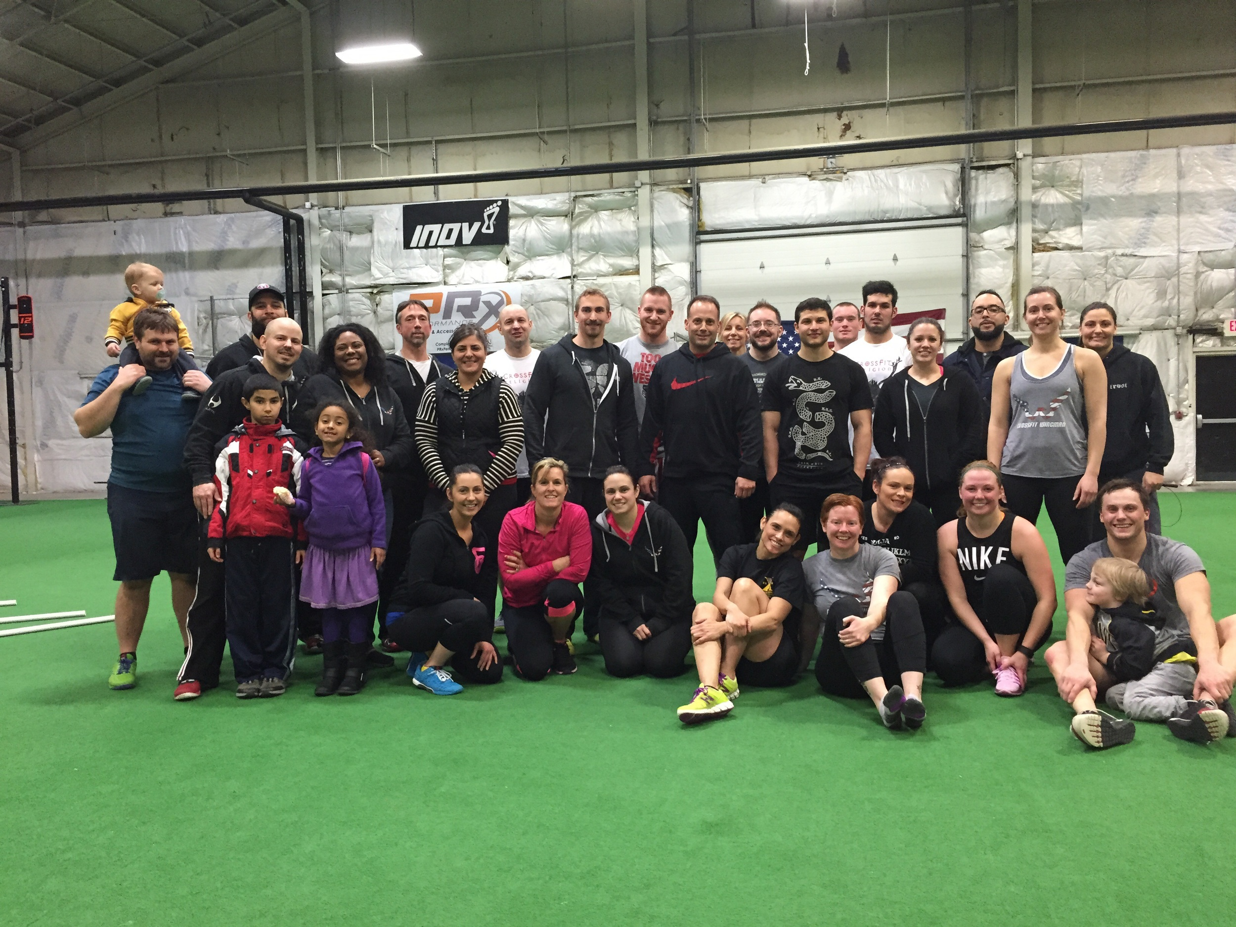 15.3, The Late Sunday Crew with CrossFit Religion.