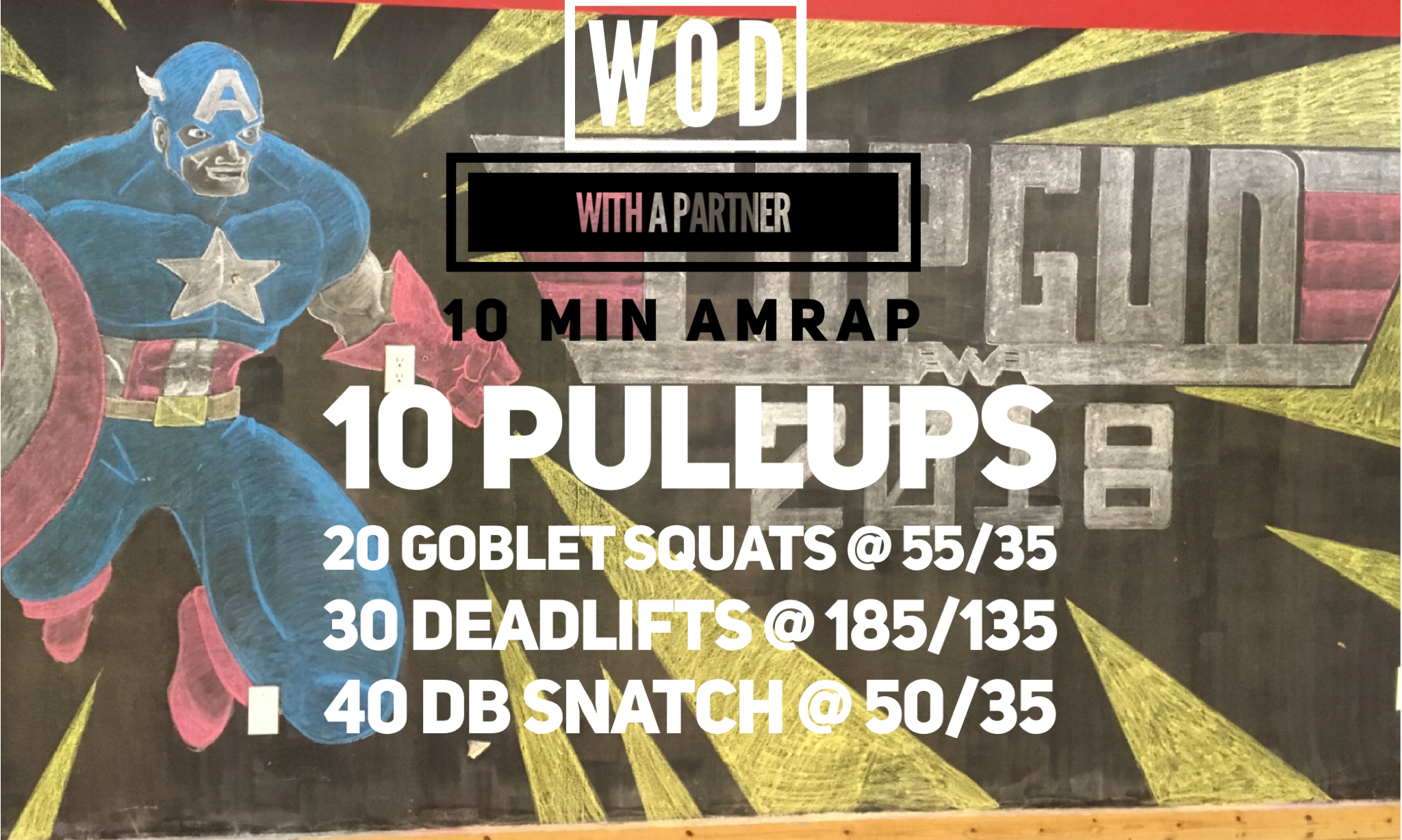 Level 3:: Bar Muscle Ups, Double KB front squats, deads @ 225/155