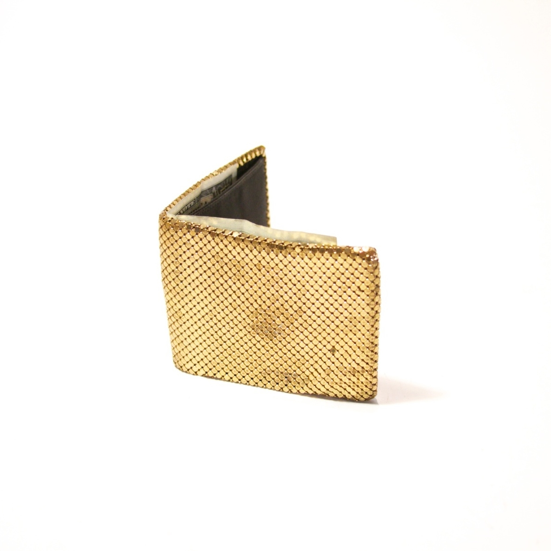 Metal Mesh Wallet