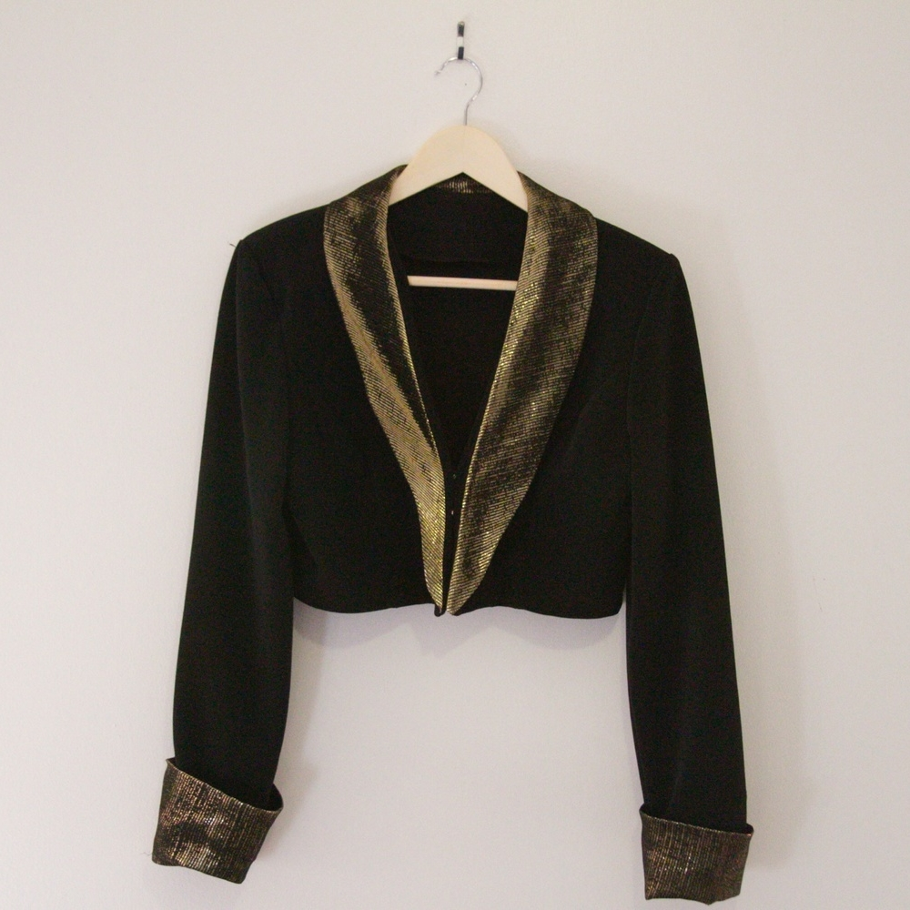 Glitter & Gold Jacket