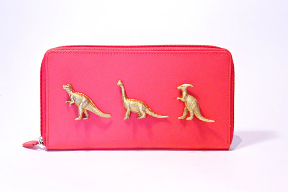 $22  A Dinovember Pick, this wallet is totally unique, and can also be used for passports!