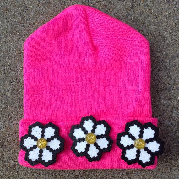 Daisy Crown Beanie  $32