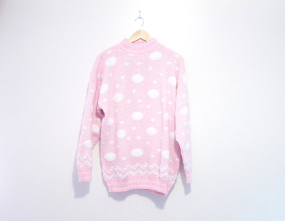 Pretty in Pink Sweater  $25