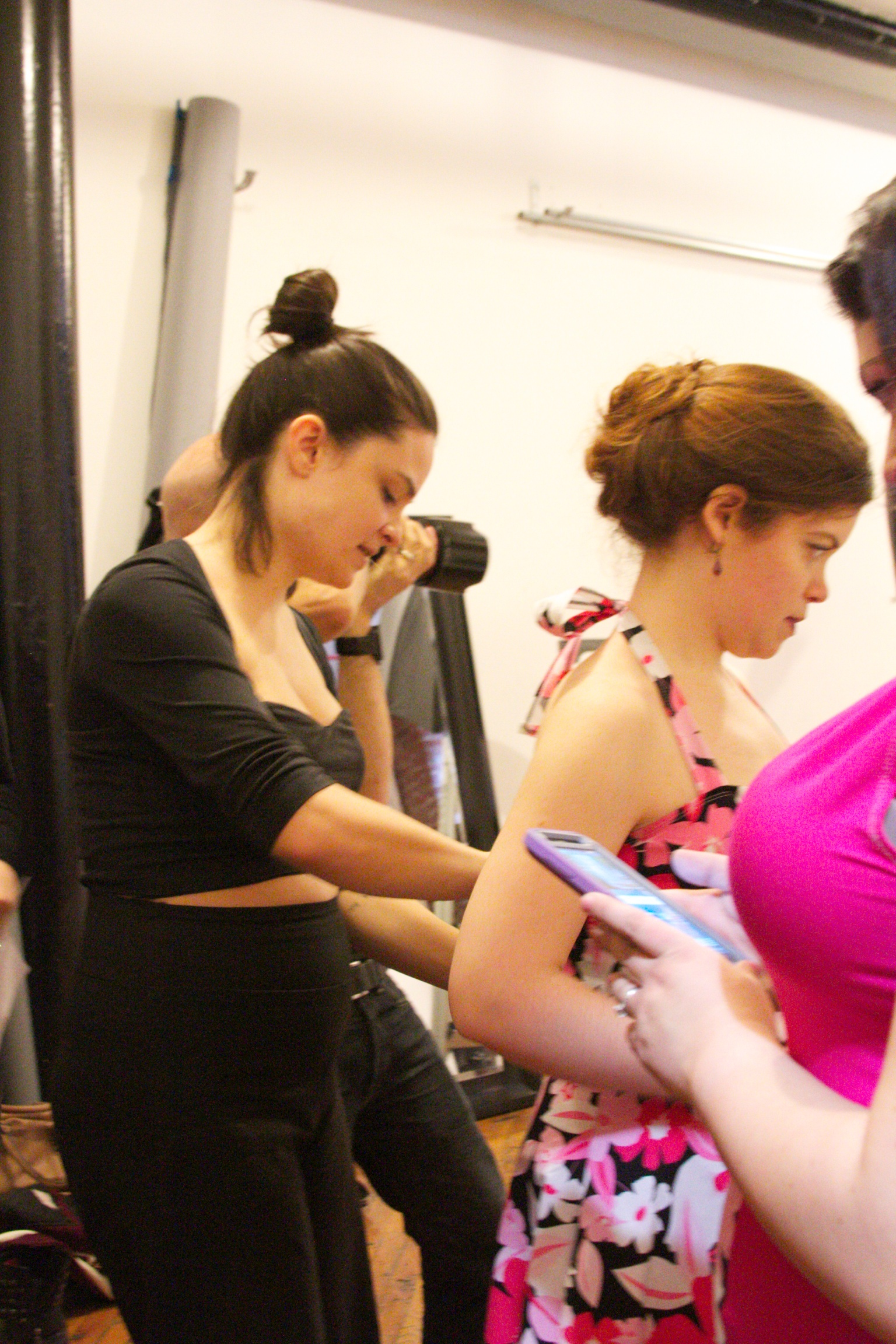 BTS Last Minute Touches by Designer Mallorie Carrington