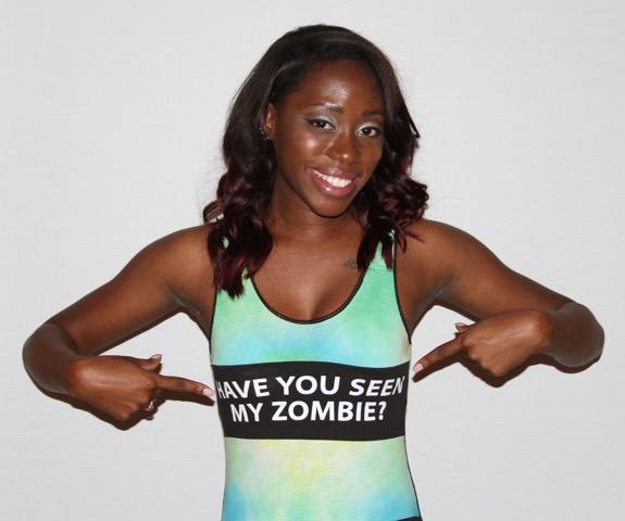 Zombie Love Onesie   $32