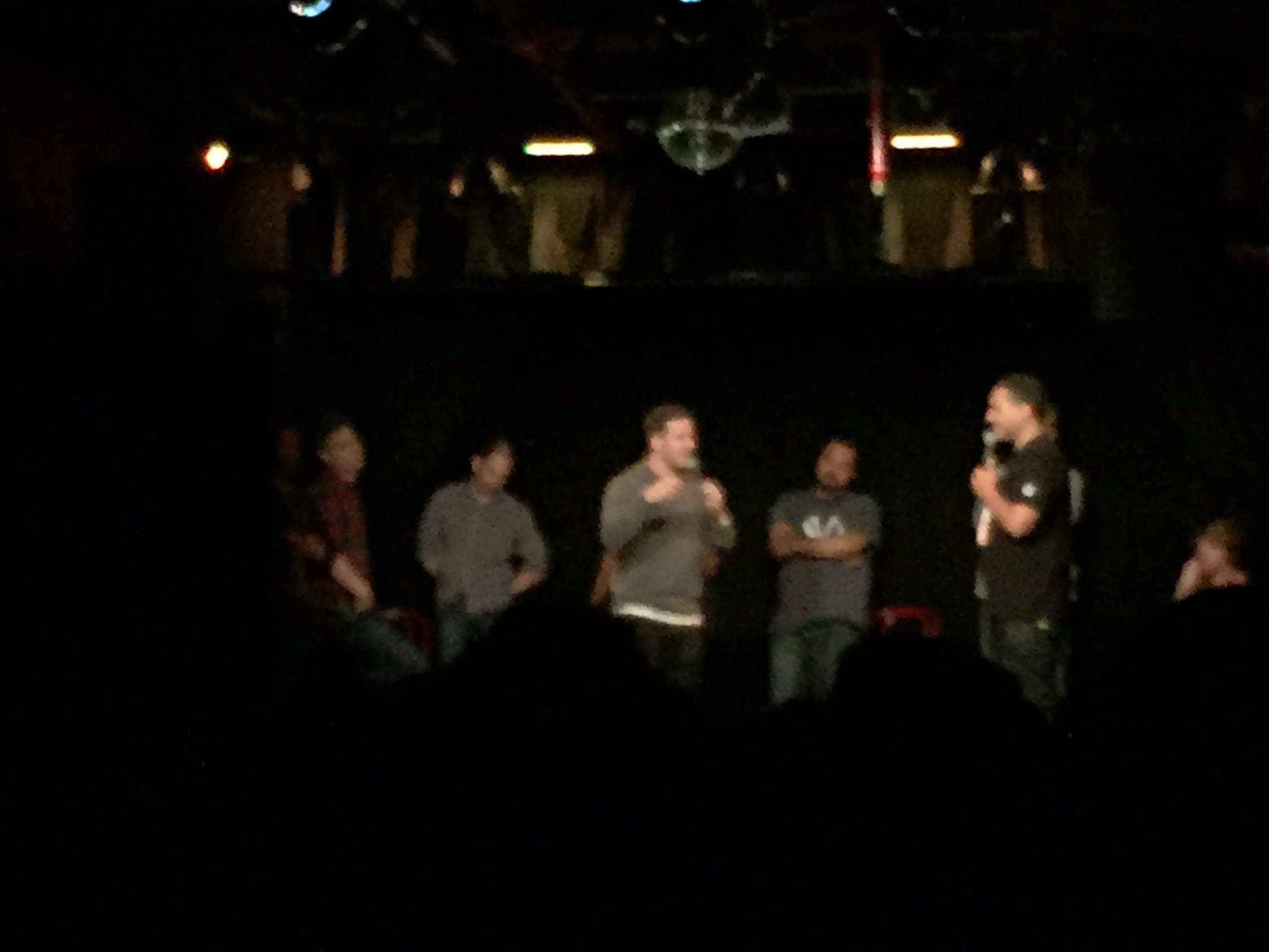 TO CLOSE OFF THE NIGHT, ITS A CRAFT BEER ($4) AND HIP HOP LEGENDS @ UPRIGHT CITIZENS BRIGADE TAKE IT PERSONAL SHOW ($10)    ALWAYS AMAZING, HILARIOUS & GUESTS VARY FROM TCHAINZ TO VINNY FROM JERSEY SHORE. YASSSS