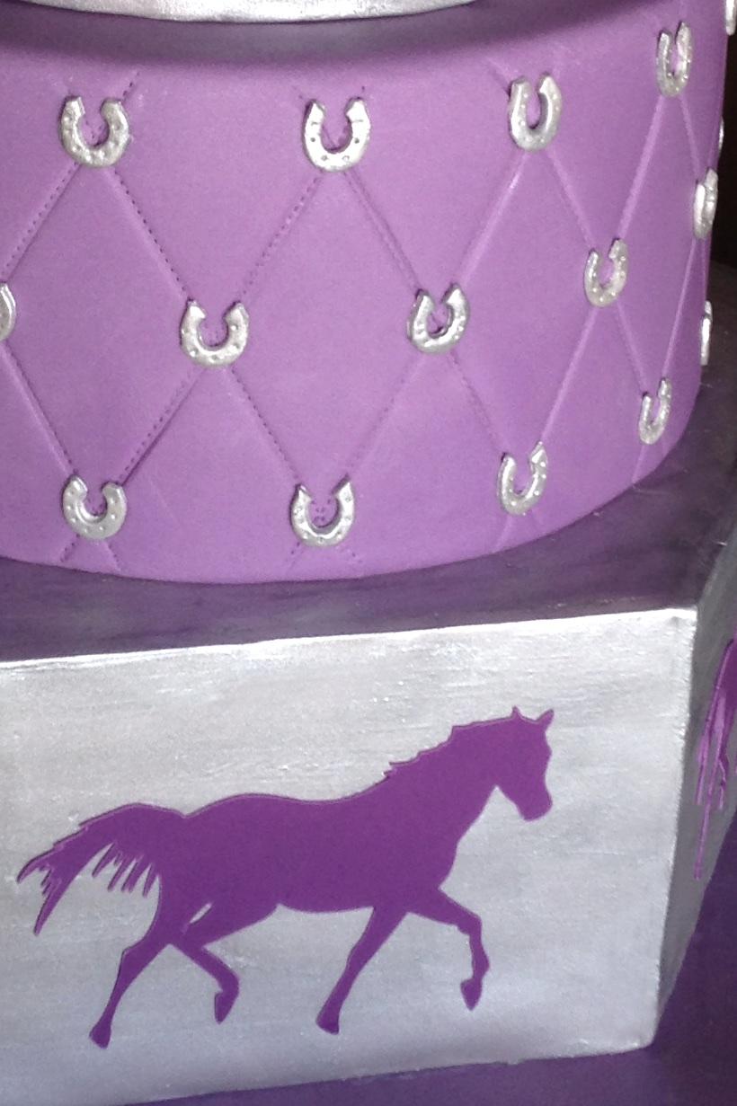Horse Bat Mitzvah cake quilt 7101.jpg