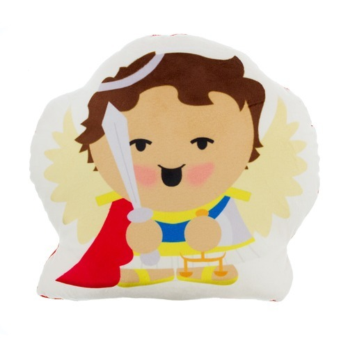 NEW Cuddle and Pray Pillows!       St. Michael the Archangel -      $18.95