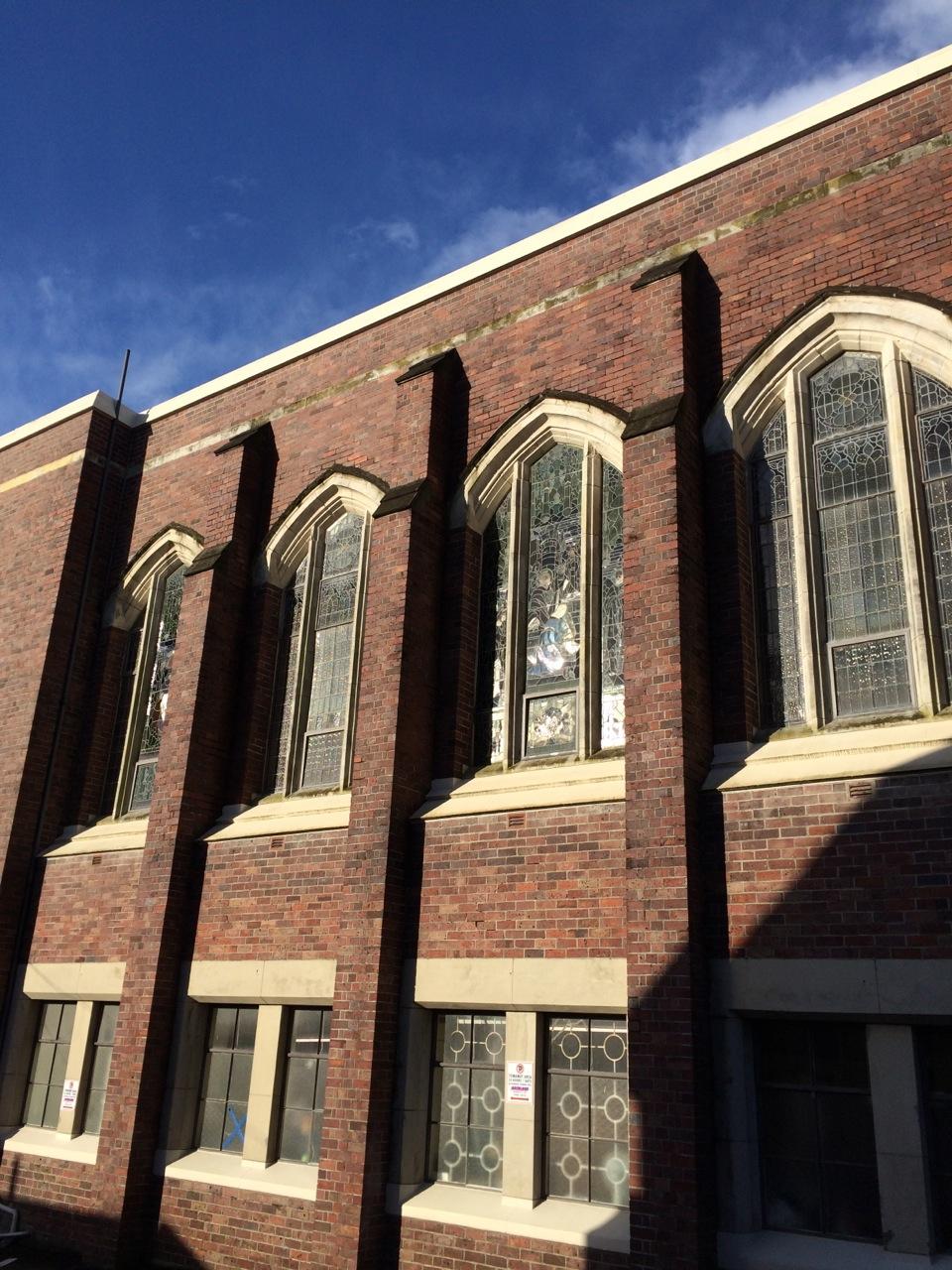 St David's in the Western sun