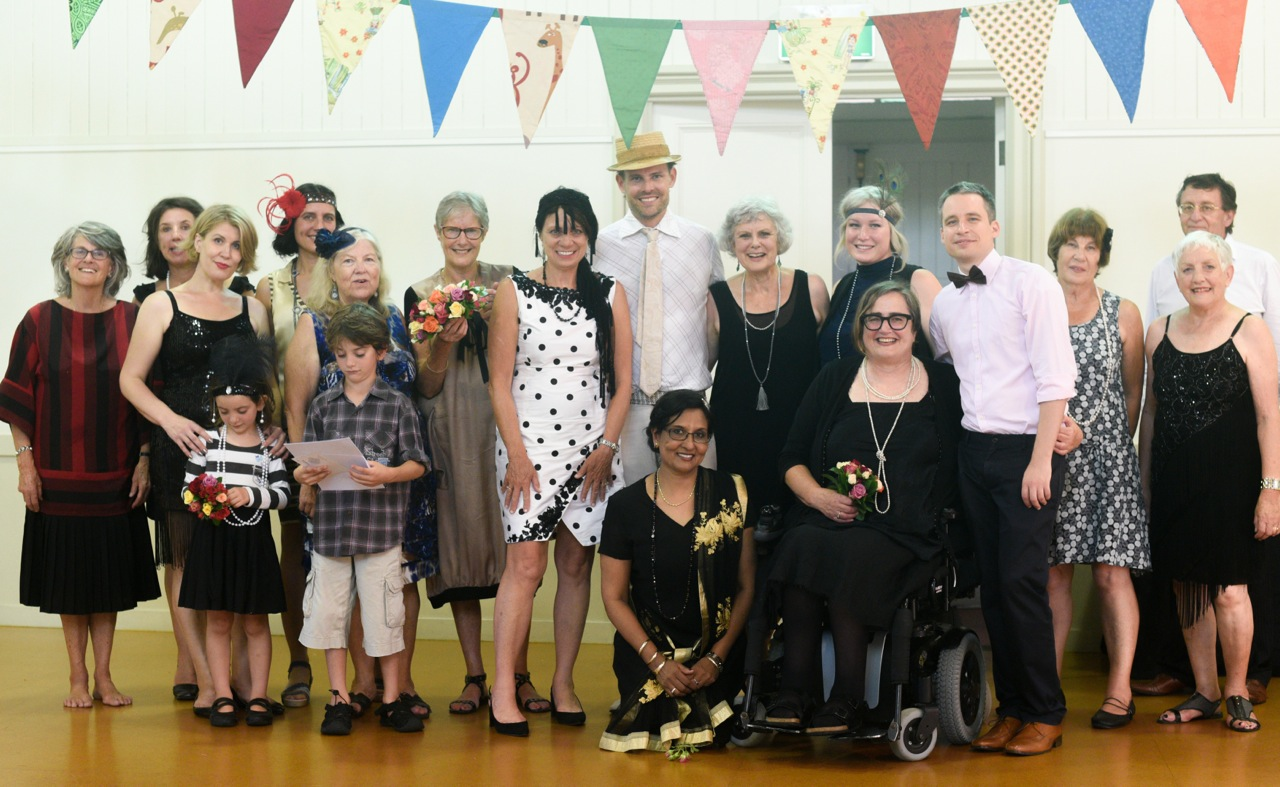 And… The Friends of St David's volunteers who made The Roaring '20s party a roaring success.  What a team! Image courtesy Maria Lazurenko.