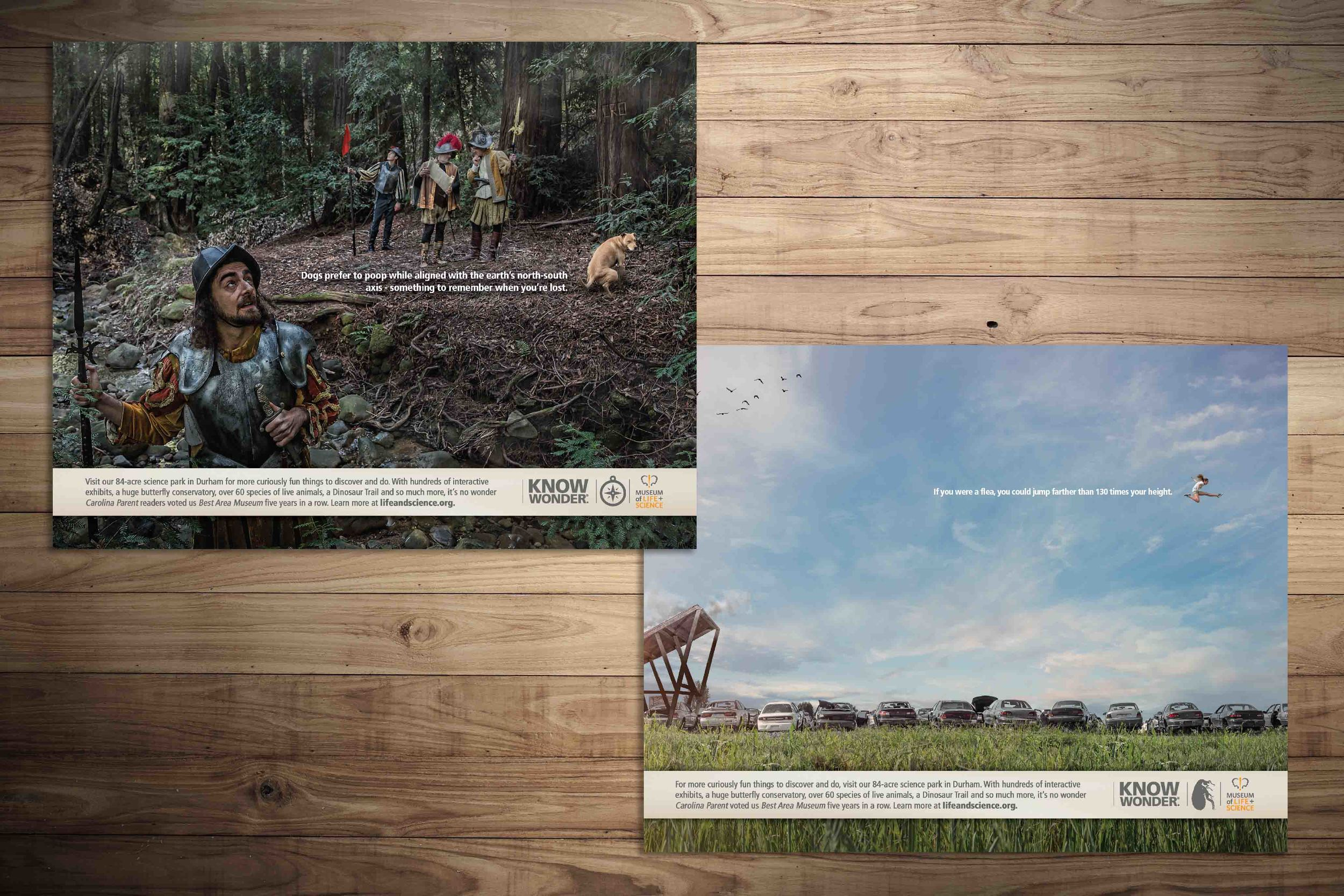 Magazine Print for The Museum of Life + Science. See the integrated campaign and case study  here .